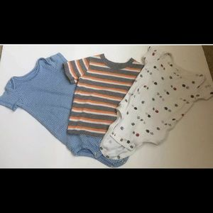 3 Piece Baby Boy 12M Bundle Short Sleeve Shirts